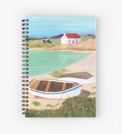Hebridean Bay 2 Spiral Notebook