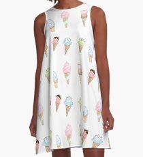 I scream for Icecream A-Line Dress