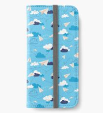 Paper Airplanes iPhone Wallet/Case/Skin