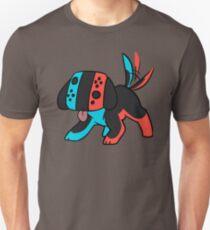 Nintendo Switch Dog Launch Colors Unisex T-Shirt