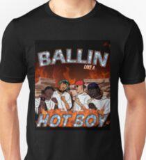 Ballin Like A Hot Boy Unisex T-Shirt