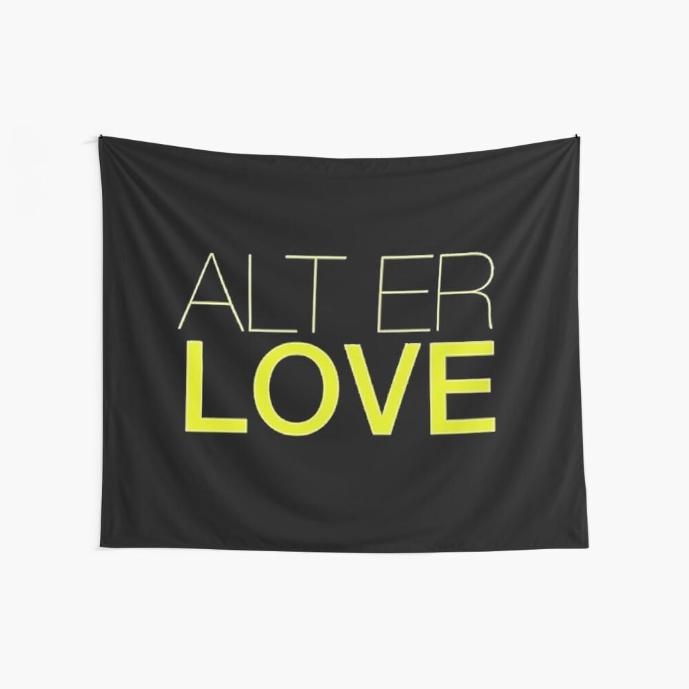 Alt er Liebe - Skam Wandbehang
