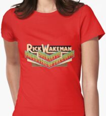 Rick Wakeman - Journey to the Centre of the Earth Women's Fitted T-Shirt