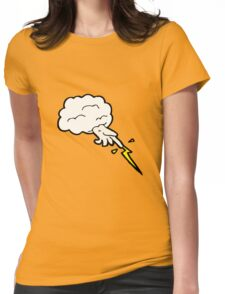hand of god cartoon Womens Fitted T-Shirt