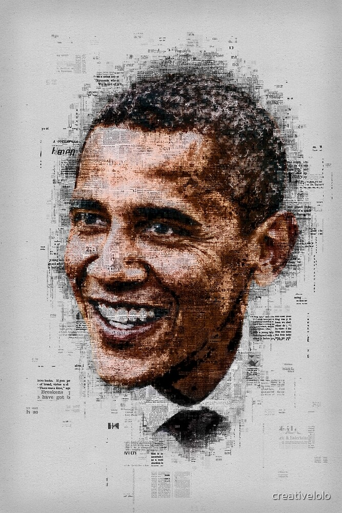 Obama by creativelolo