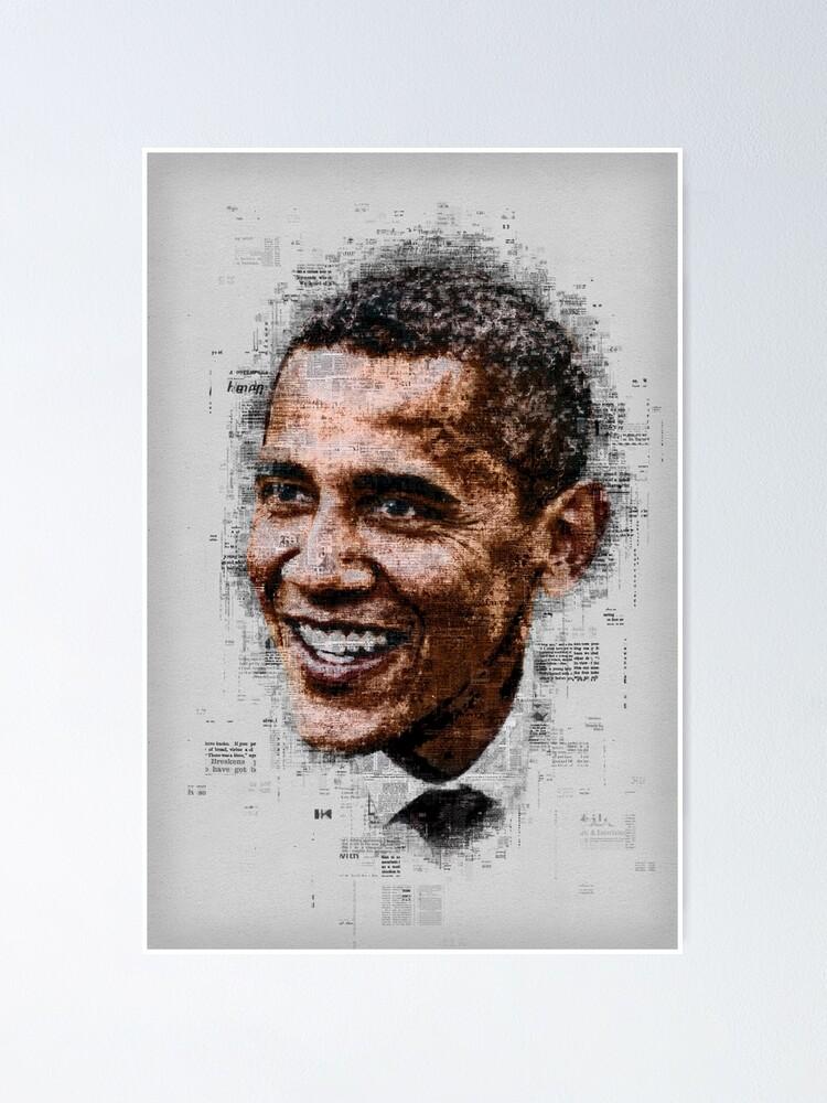 Alternate view of Obama Poster