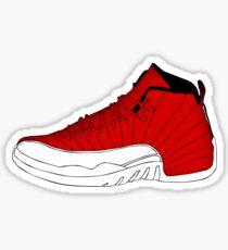 J12 Gym Red Sticker