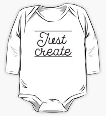 JUST CREATE One Piece - Long Sleeve