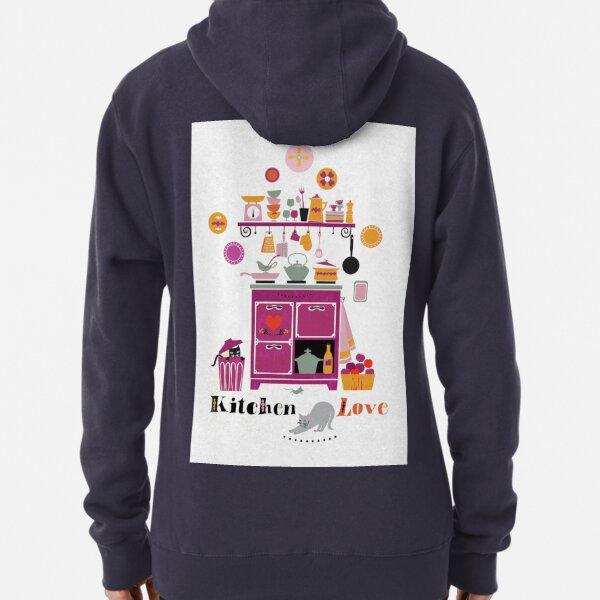 Kitchen Love Pullover Hoodie