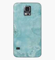 Turquoise Sea Marble Case/Skin for Samsung Galaxy