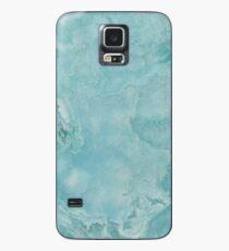 Türkis Meer Marmor Hülle & Klebefolie für Samsung Galaxy