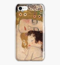 Gustav Klimt, The Three Ages of Woman, 1905 iPhone Case/Skin