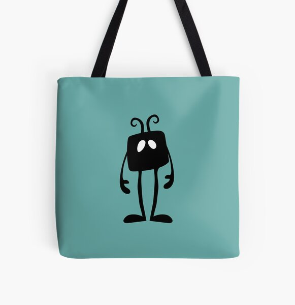 BadaBada - W is for wait All Over Print Tote Bag