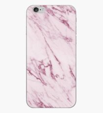 Marble Texture - Mauve Pink Marble iPhone Case