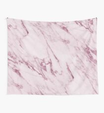 Marble Texture - Mauve Pink Marble Wall Tapestry