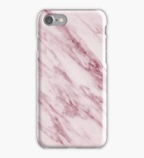 Marble Pattern - Swirled Raspberry Pink Marble iPhone Case/Skin