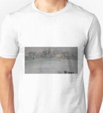 Neubrandenburg in morning fog T-Shirt