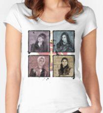 Descendants 2 Snapshot Women's Fitted Scoop T-Shirt