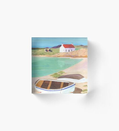 Hebridean Bay 2 Acrylic Block