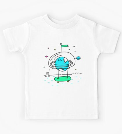 Surreal Planet - Mr Beaker Kids Clothes