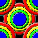 .Pattern A-7. .Expanded, Centered - Black. by Laerrus