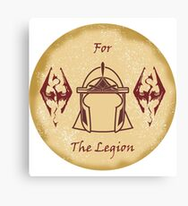 For the Legion - Imperials Canvas Print