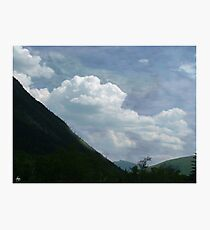 Clouds over Crawford Photographic Print