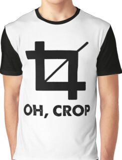 Oh Crop Graphic T-Shirt
