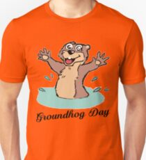 Happy Groundhog Day Canada Unisex T-Shirt