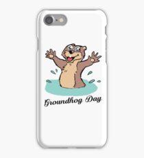 Happy Groundhog Day Canada iPhone Case/Skin