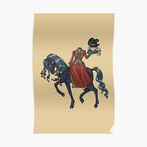Dullahan Headless Horsewoman Rider MONSTER GIRLS Series I Poster