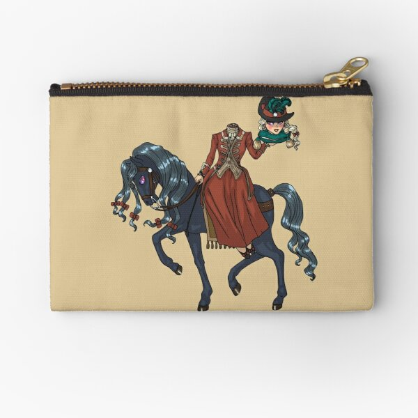 Dullahan Headless Horsewoman Rider MONSTER GIRLS Series I Zipper Pouch