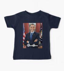 OBAMA, Barack Obama, 44th, President of the United States Baby Tee