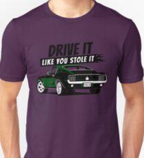 68 Mustang Fastback green T-Shirt