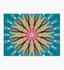 Psychedelic Trippy Hippie Illusion Photographic Print