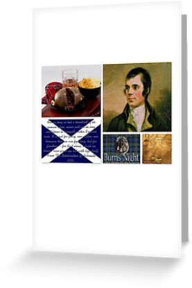 Burns night greeting cards by musicbandcanada redbubble burns night by musicbandcanada m4hsunfo