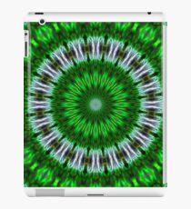 Psychedelic Green Mandala iPad Case/Skin