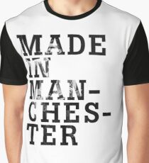 """Courteeners """"Made in Manchester"""" Graphic T-Shirt"""