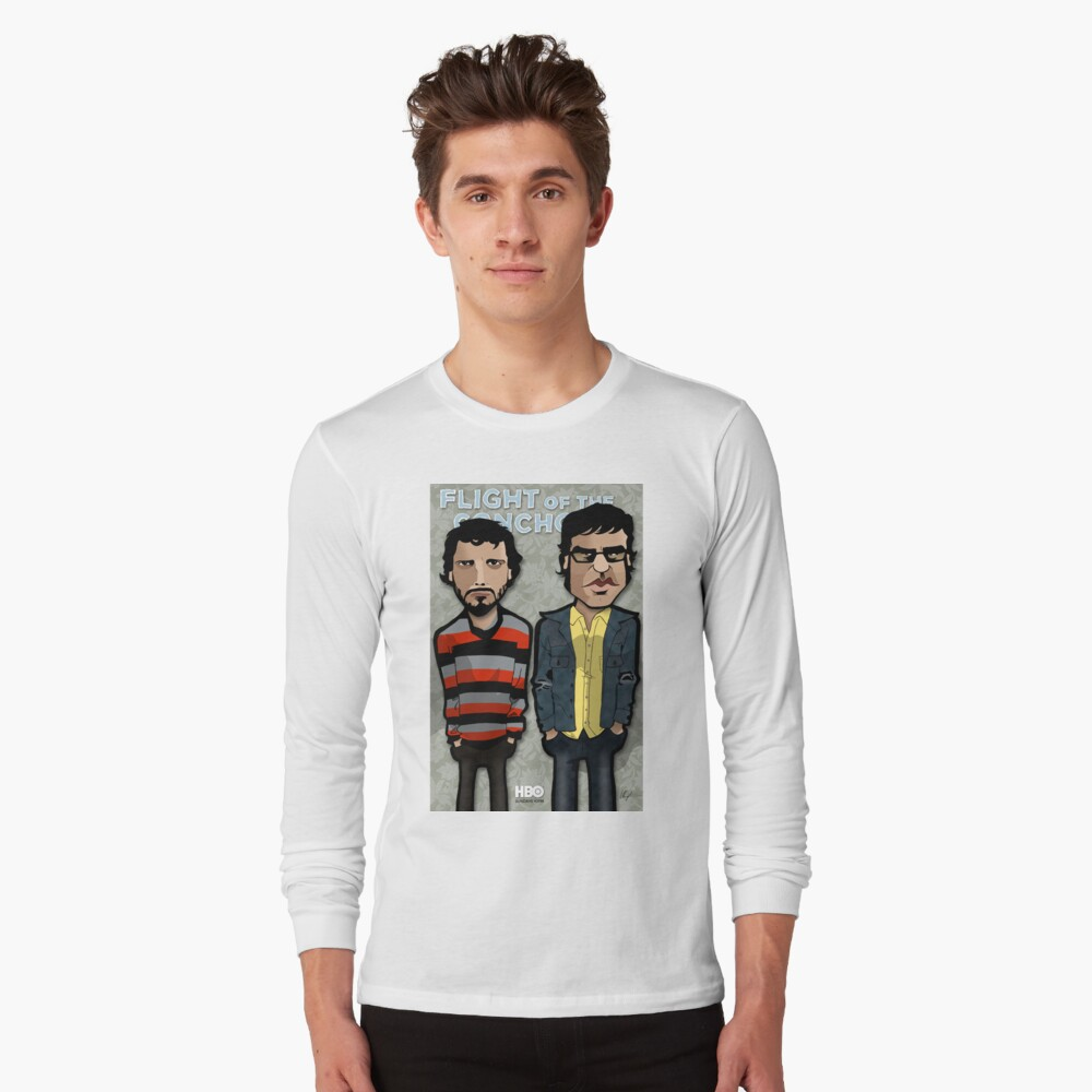 Flight Of The Conchords T Shirt By Binarygod Redbubble