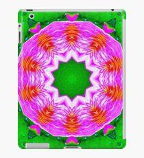 Psychedelic Pink & Green Mandala iPad Case/Skin