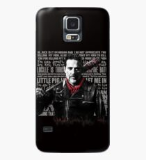 The Walking Dead - Negan quotes Case/Skin for Samsung Galaxy