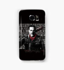 The Walking Dead - Negan quotes Samsung Galaxy Case/Skin