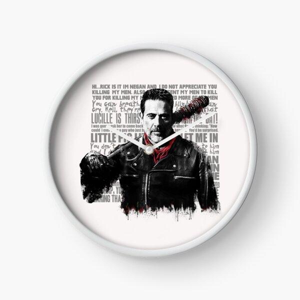 The Walking Dead - Negan quotes Clock