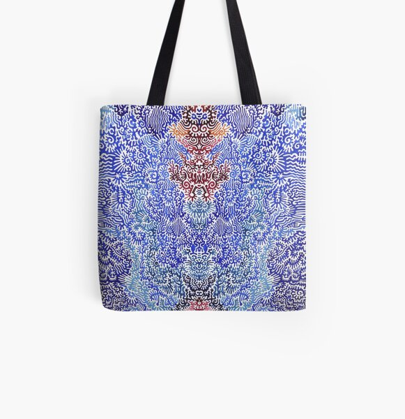 This is a blue dream All Over Print Tote Bag