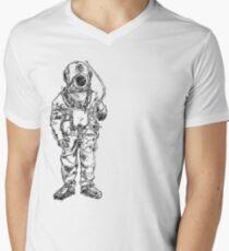 Antique Old Fashioned Ancient Scuba Diver Dry Suit T-Shirt