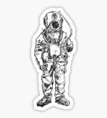 scuba fins drawing stickers redbubble