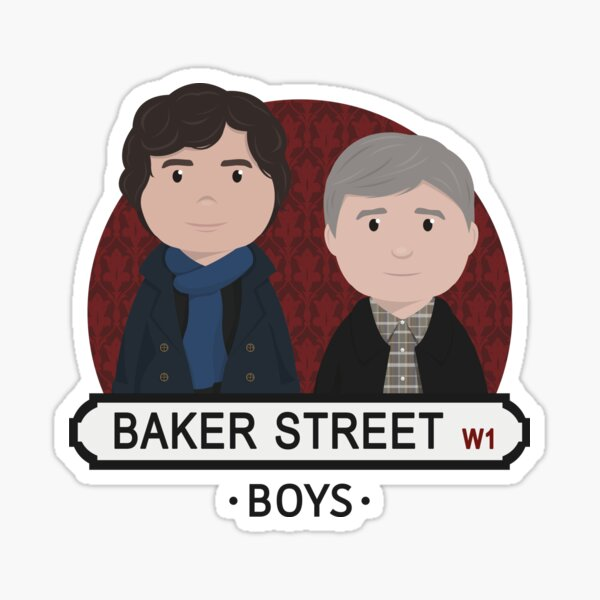 Sherlock - Baker Street Boys Sticker