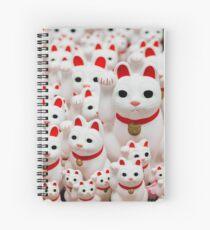 Good Luck Cats Spiral Notebook