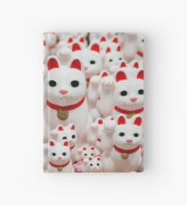 Good Luck Cats Hardcover Journal