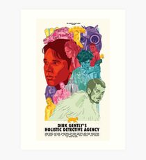 Dirk Gently's Holistic Detective Agency Art Print